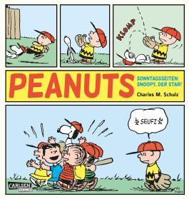 Peanuts Sonntagsseiten – Snoopy der Star!