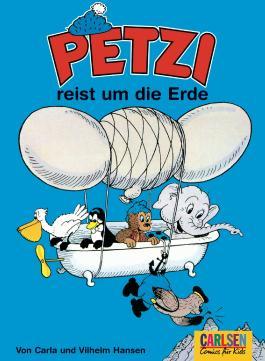 Petzi: Petzi reist um die Erde