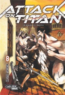 Attack on Titan. Bd.8