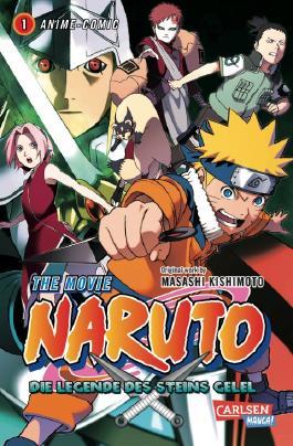 Naruto the Movie: Die Legende des Steins Gelel, Band 1