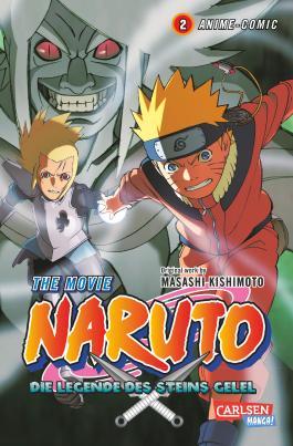 Naruto the Movie: Die Legende des Steins Gelel, Band 2