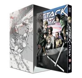 Attack on Titan, Band 10 im Sammelschuber mit Extra