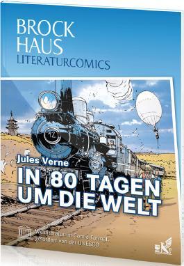 Brockhaus Literaturcomics In 80 Tagen um die Welt