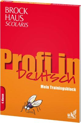 Brockhaus Scolaris Profi in - Mein Trainingsblock: Deutsch 4. Klasse