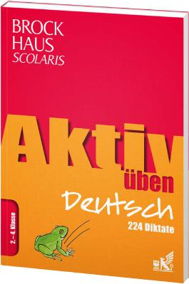 Brockhaus Scolaris Aktiv üben Deutsch 2.-4. Klasse