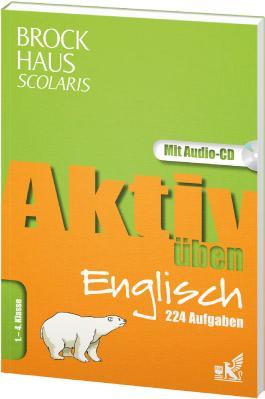 Brockhaus Scolaris Aktiv üben Englisch 1.-4. Klasse, m. Audio-CD