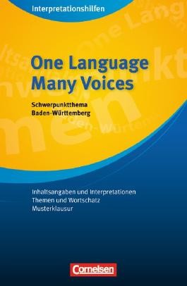 Interpretationshilfen / Ab 11. Schuljahr - One Language, Many Voices: Interpretationshilfe