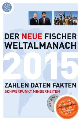 Der neue Fischer Weltalmanach 2015 mit CD-Rom