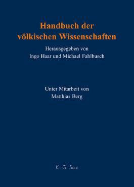 Handbuch Der Volkischen Wissenschaften
