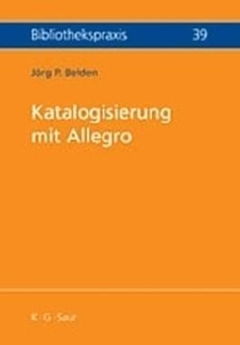 Katalogisierung mit Allegro