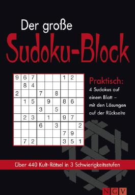 Der große Sudoku-Block. Bd.1