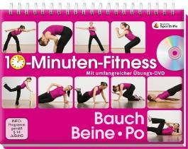 10-Minuten-Fitness Bauch, Beine Po, m. DVD
