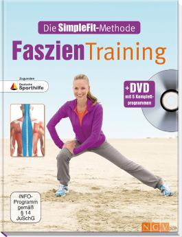 Faszien-Training + DVD mit 5 Komplettprogrammen