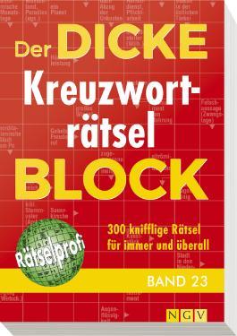Der dicke Kreuzworträtsel-Block Band 23