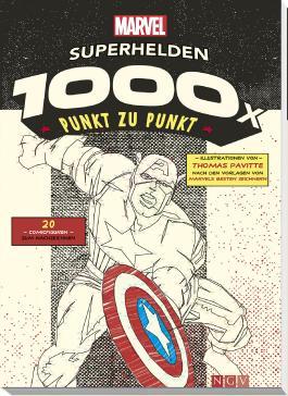 MARVEL: Superhelden - 1000x Punkt zu Punkt