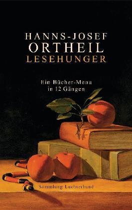 Lesehunger - Ein Bücher-Menü in 12 Gängen