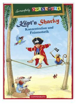 Lernerfolg Vorschule: Käpt'n Sharky - Konzentration und Feinmotorik