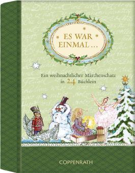 Es war einmal ... - Ein weihnachtlicher Märchenschatz in 24 Büchlein