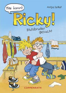 Hier kommt Ricky - Band 2: Blutsbruder gesucht