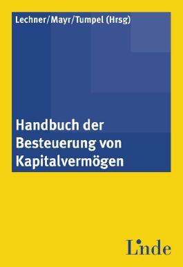 Handbuch der Besteuerung von Kapitalvermögen (f. Österreich)