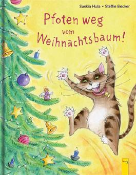 Pfoten weg vom Weihnachtsbaum!