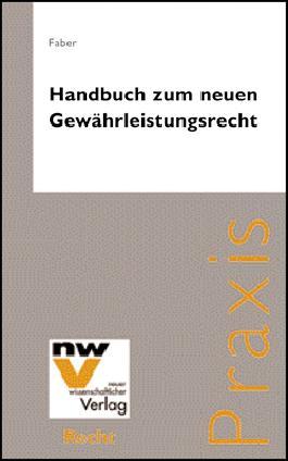 Handbuch zum neuen Gewährleistungsrecht