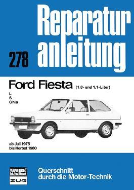 Ford Fiesta L / S / Ghia (1,0- und 1,1-Liter)