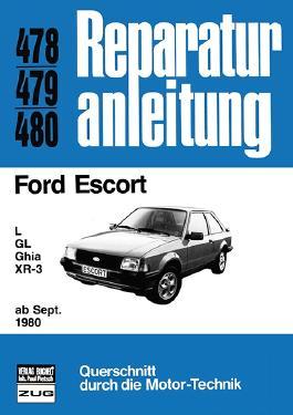Ford Escort L / GL / Ghia / XR-3 ab Sept. 1980