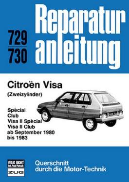 Citroen Visa (Zweizylinder) ab September 1980 -1983