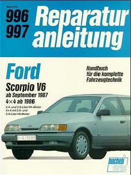 Ford Scorpio V6 ab September 1987 / 4x4 ab 1986