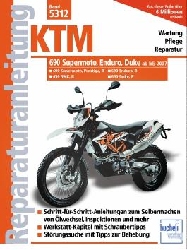 KTM 690 Supermoto, Enduro, Duke