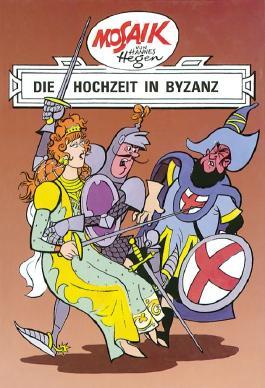 Mosaik von Hannes Hegen: Die Hochzeit in Byzanz