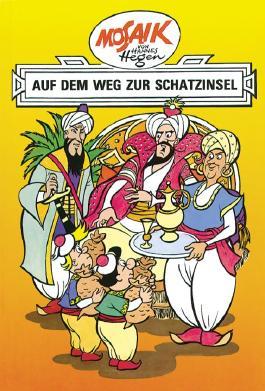 Mosaik von Hannes Hegen: Auf dem Weg zur Schatzinsel