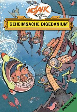 Mosaik von Hannes Hegen: Geheimsache Digedanium