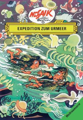 Mosaik von Hannes Hegen: Expedition zum Urmeer
