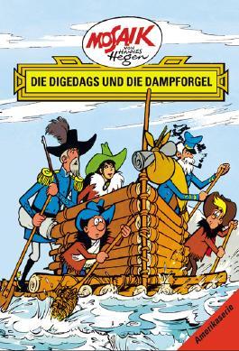 Mosaik von Hannes Hegen: Die Digedags und die Dampforgel