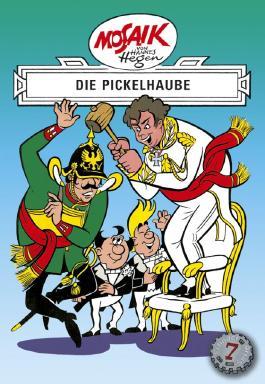 Mosaik von Hannes Hegen: Die Pickelhaube
