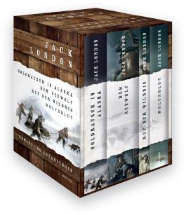 Jack London - Romane und Erzählungen (Vier Bände im Schuber)