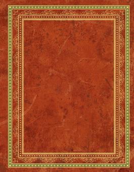 Blank Book Lederlook rotbraun (groß)