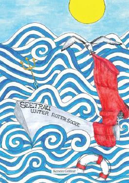 Seefrau unter roter Socke