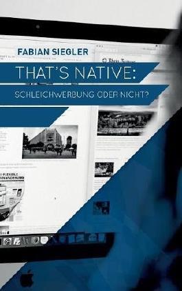 That's native: Schleichwerbung oder nicht?