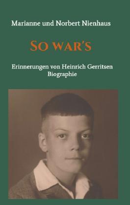So war's