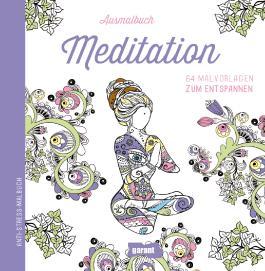 Ausmalbuch Meditation