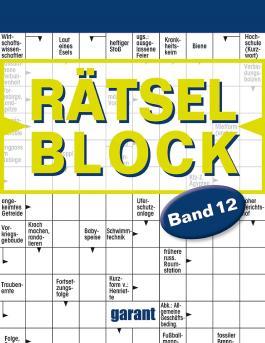 Rätselblock Band 12