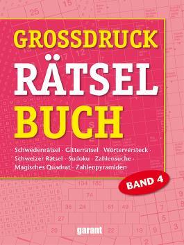 Grossdruck Rätselbuch Band 4