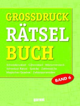 Grossdruck Rätselbuch Band 6