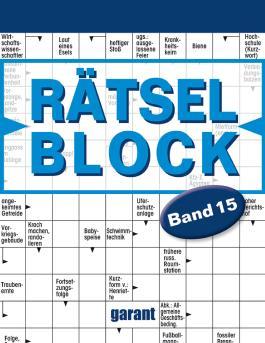 Rätselblock Band 15