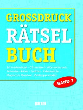 Grossdruck Rätselbuch Band 7
