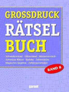 Grossdruck Rätselbuch Band 8