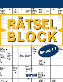 Rätselblock Band 17